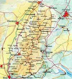 karte vom schwarzwald Anreise Schwarzwald Karte karte vom schwarzwald
